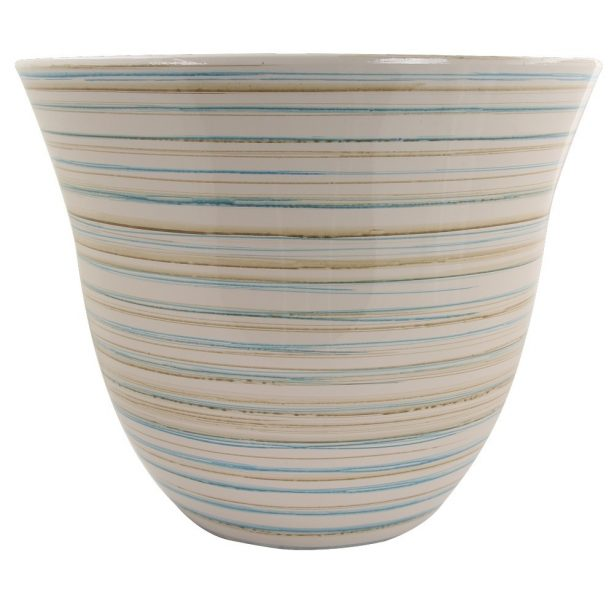 A beige Abigail planter from Poundstretcher
