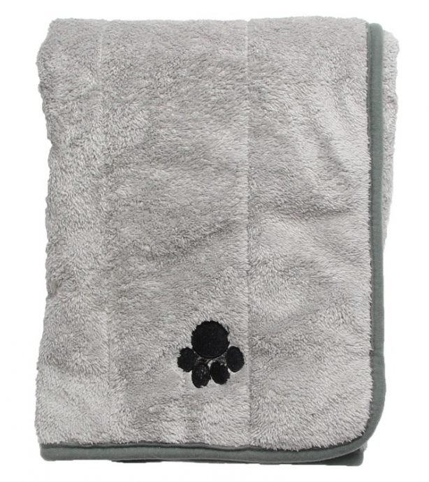 A super-soft grey Pet Mat